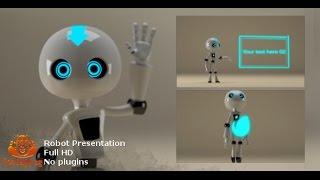 getlinkyoutube.com-Robot Presenting | After Effects template