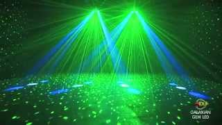 getlinkyoutube.com-American DJ Galaxian Gem LED Moonflower / Laser DMX Disco Light @ AstoundedDotCom
