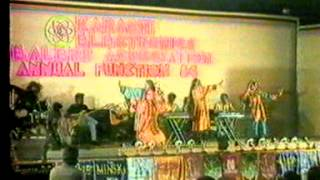 BALOCHI LEWA DANCE ANNOUNCED BY MOIN AKHTAR