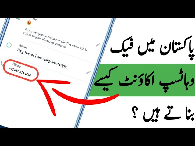 whatsapp online fake number