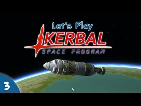 Let's Play Kerbal Space Program #03 - Spaaaaaace!