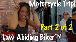 PT 2-Motorcycle Trip Documentary Movie Colorado, Utah, Wyoming, Idaho, Oregon, Washington