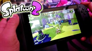 getlinkyoutube.com-Splatoon 2 Nintendo Switch Gameplay | NYC Preview Event