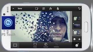 getlinkyoutube.com-Ps Touch   Disintegration of Pixels   Photoshop Touch tutorial (mobile)