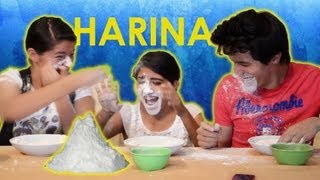getlinkyoutube.com-Reto: Buscando Chocolates en Harina | Los Polinesios Retos | Platica Polinesia