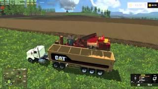 """getlinkyoutube.com-Pleasant valley 15 v2.2 for Farming Simulator 15 """"Pig Apples"""""""