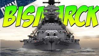 getlinkyoutube.com-BATTLESHIP BISMARCK - Love This SHIP (World Of Warships Gameplay)