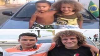 David Luiz and Thiago Silva friends for ever