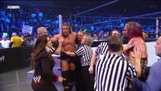 getlinkyoutube.com-Triple H & Jeff Hardy Brawl