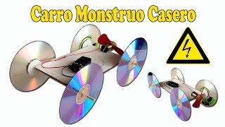 getlinkyoutube.com-Como Hacer un Coche Eléctrico Aerodeslizado Casero (Muy Fácil )