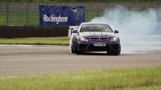 getlinkyoutube.com-DRIFTING: BMW M3 GTS vs Mercedes C63 AMG - Fifth Gear