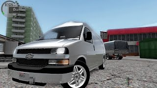 getlinkyoutube.com-City Car Driving 1.5.1 Chevrolet Express [G27]