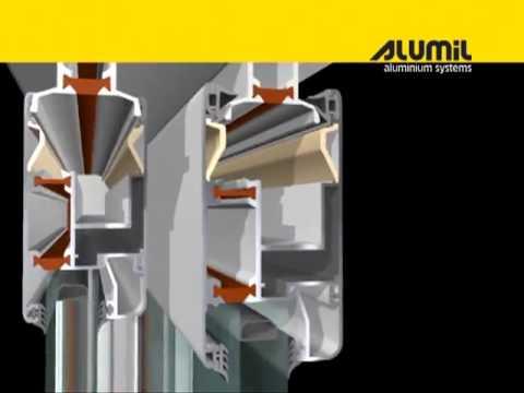 Podizno klizna vrata - Alumil