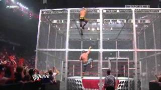 getlinkyoutube.com-John Cena vs Randy Orton - Gauntlet Match Hell in a Cell