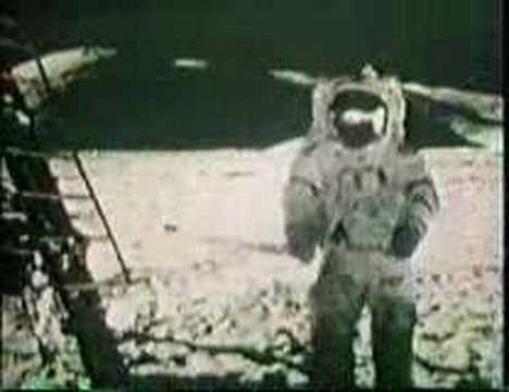 Apollo 17 Moon walk - Geological exploration of the moon