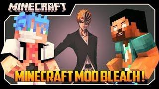 getlinkyoutube.com-Minecraft MOD: Mobs Novos, Poderes e Espadas!! (Bleach MOD)
