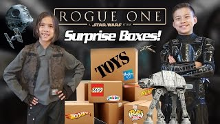 getlinkyoutube.com-ROGUE ONE TOY SURPRISE!!! NEW Star Wars LEGO, Hot Wheels, Action Figures and More!