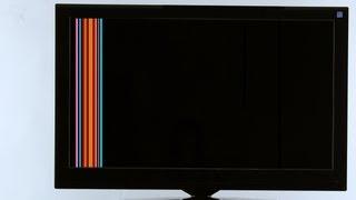 getlinkyoutube.com-Cómo reparar las líneas verticales Reparando Samsung TV cómo identificar los números de T-Con