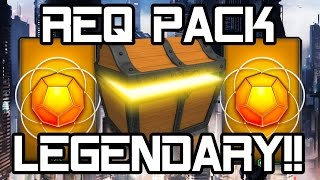 getlinkyoutube.com-Halo 5 Req Pack Opening - MY FIRST LEGENDARY!! (Halo 5 Guardians Gameplay 60fps 1080p)