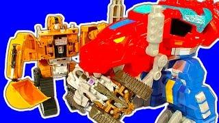getlinkyoutube.com-Transformers Easy 2 Do 1-Step Mega Review & Fake Deceptcons Battle