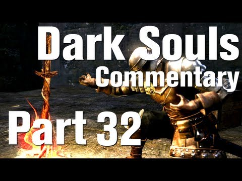 Dark Souls Walkthrough Part 32  - Capra Demon - Third Boss [HD] [Commentary]