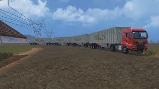 getlinkyoutube.com-Farming simulator 15   #15 Présentation des mods   BIG remorques!