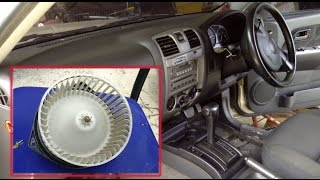 getlinkyoutube.com-วิธีถอดล้างพัดลมแอร์รถ แก้ปัญหาแอร์มีกลิ่นมีเสียงดัง clean Car Air con fan