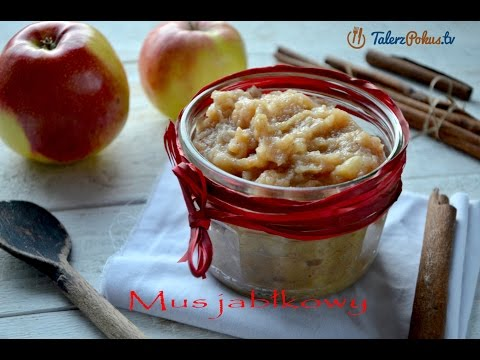 Mus jabłkowy z cynamonem