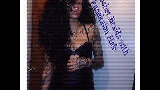 getlinkyoutube.com-Crochet braids with kanekalon hair