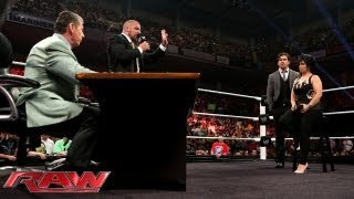getlinkyoutube.com-Stephanie McMahon fires Vickie Guerrero; Mr. McMahon appoints Brad Maddox the new Raw GM: Raw, July