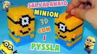 getlinkyoutube.com-Tutorial Salvadanaio MINION con i PYSSLA 3D || Iolanda Sweets