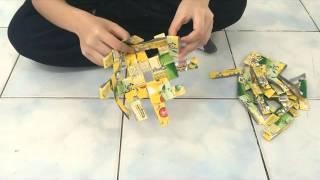 getlinkyoutube.com-วิธีการสานตะกร้าจากกล่องนม