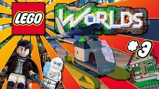 getlinkyoutube.com-GRIFFARE CASE E VOLARE IN ELICOTTERO - Lego Worlds ITA #3
