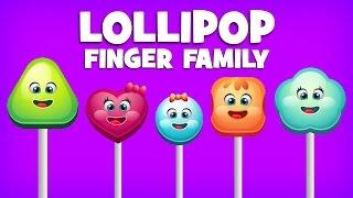 getlinkyoutube.com-Finger Family Collection   5 Lollipop Finger Family Songs   Daddy Finger Nursery Rhymes