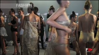 "getlinkyoutube.com-""ADRIANA DEGREAS"" Swimwear Backstage - Spring Summer 2013 Sao Paulo Fashion Week SPFW"