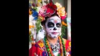 getlinkyoutube.com-Ideas de Maquillaje y disfraz de ¨CATRINA¨