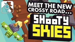 getlinkyoutube.com-CROSSY ROAD IN A PLANE! | Shooty Skies iPhone, iPad & Android hands-on