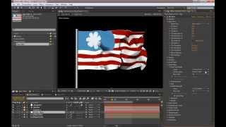getlinkyoutube.com-Tutorial - Create a flowing flag with After Effects and Form