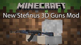 getlinkyoutube.com-Minecraft Mod รีวิว - Mod ปืน 3D   New Stefinus 3D Guns Mod