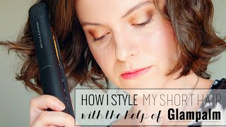 How to Style Short Hair! (with GlamPalm)