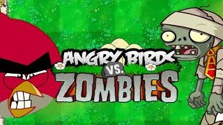 getlinkyoutube.com-Angry Birds vs Zombies