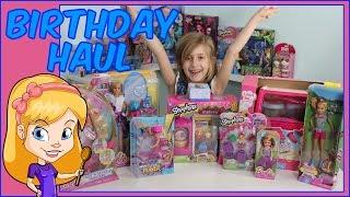 getlinkyoutube.com-Barbie Birthday Haul   Barbie and Shopkins