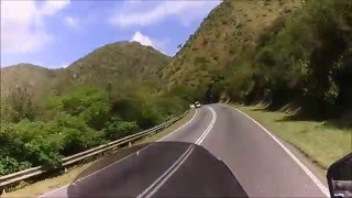 Corven Touring 250 / Zongshen RX3. Camino del dique San Roque.
