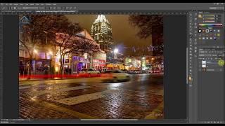 getlinkyoutube.com-Học photoshop_Nước mưa & vệt sáng (Rain in photoshop) | 3DC Tutorial