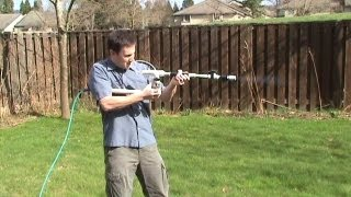 getlinkyoutube.com-World's Most Powerful Marshmallow Gun -- How To Make Your Own