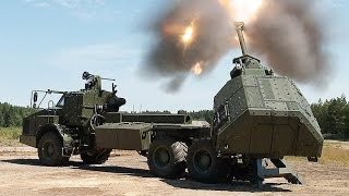 getlinkyoutube.com-Fastest Howitzer in The World - Archer Artillery System