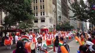 India Day Parade New York City 2013   Dhol Tasha Pathak