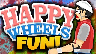 "getlinkyoutube.com-Happy Wheels Funny Moments! - ""IMPOSSIBLE LEVELS!"" - (Happy Wheels Gameplay)"