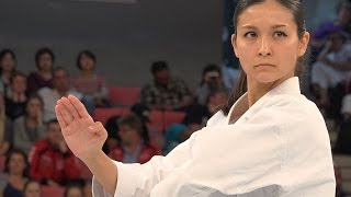 getlinkyoutube.com-【4K】世界チャンピオンの美しすぎる空手! Beautiful Karate World Champion