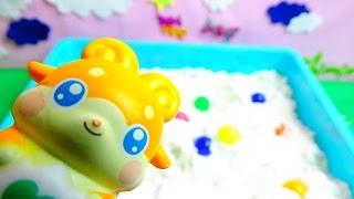 getlinkyoutube.com-ここたまをさがせ!ラキたまメロリーおシャキキラリスモグタンゲラチョ♪アニメおもちゃ